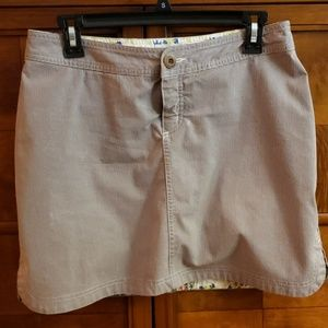 HORNY TOAD SKORT SIZE SIX